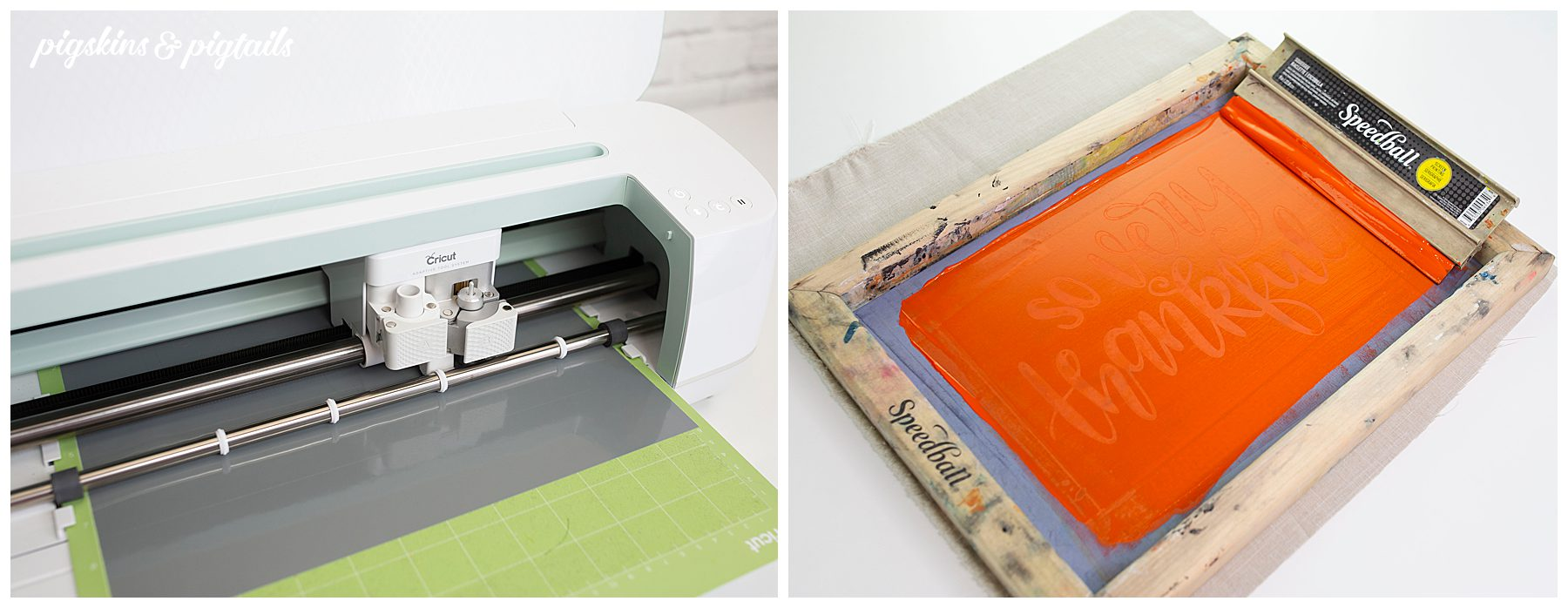 screen printing vinyl cricut how to tutorial