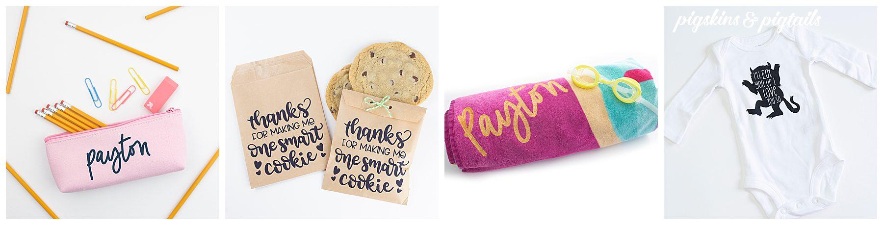 speedball screen printing pencil case paper bags towel onesie