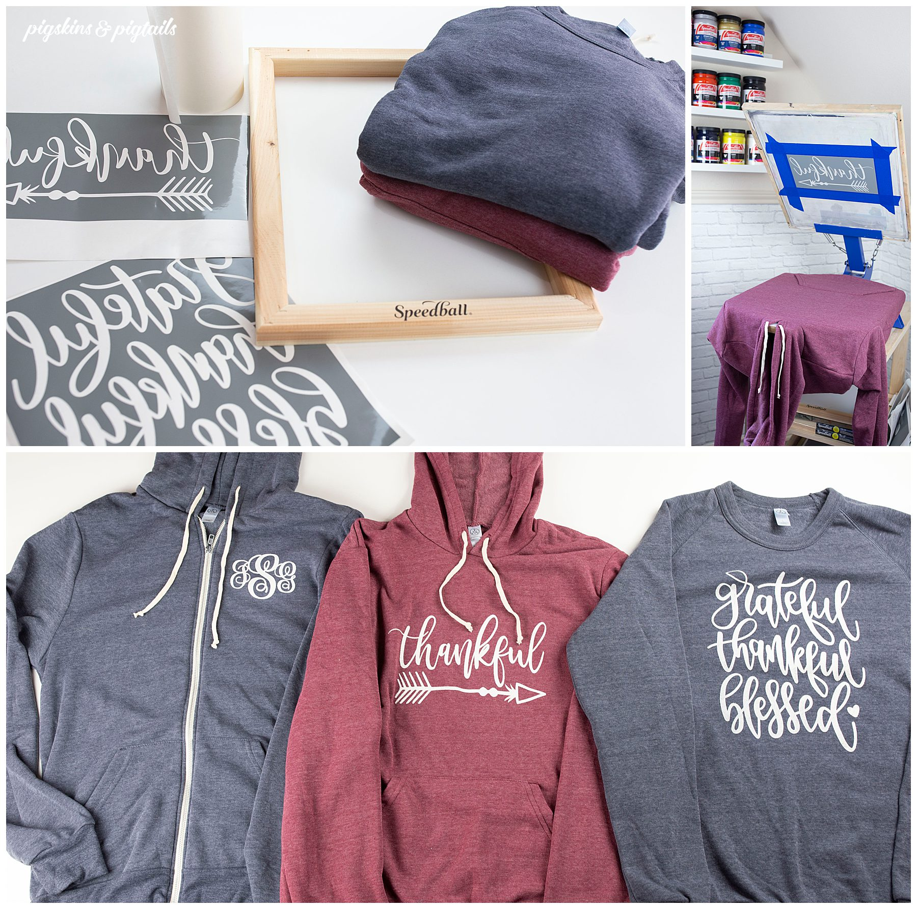 how to screen print sweatshirts alternative
