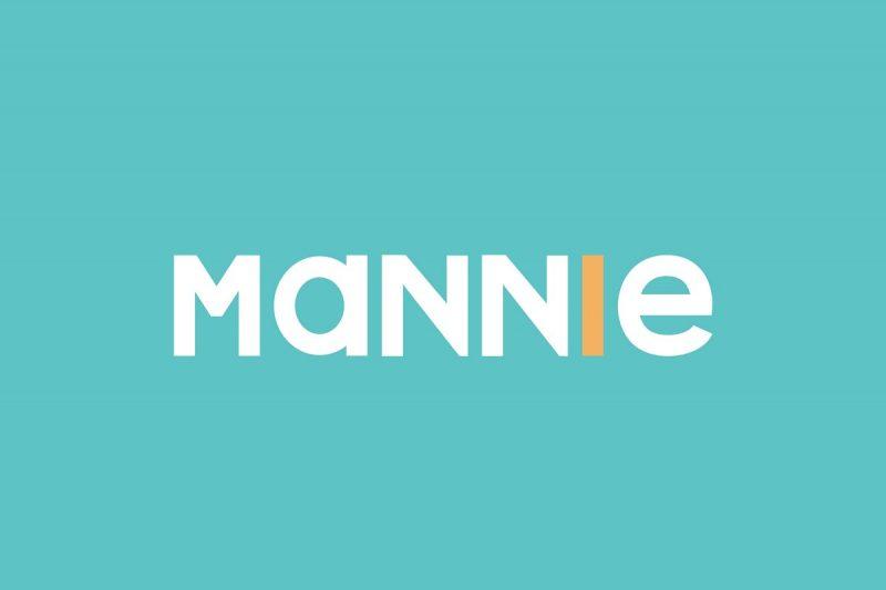 mannie font sans serif bold font vinyl