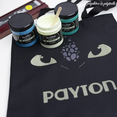 Screen Printing Glow in the Dark Ink with DIY Pallet
