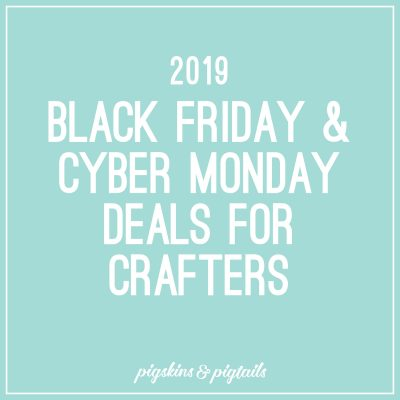 2019 black friday deals from cricut, michaels, and more craft supplies