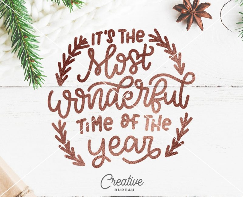 most wonderful time year christmas svg etsy