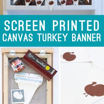 How to Screen Print on a Canvas Banner