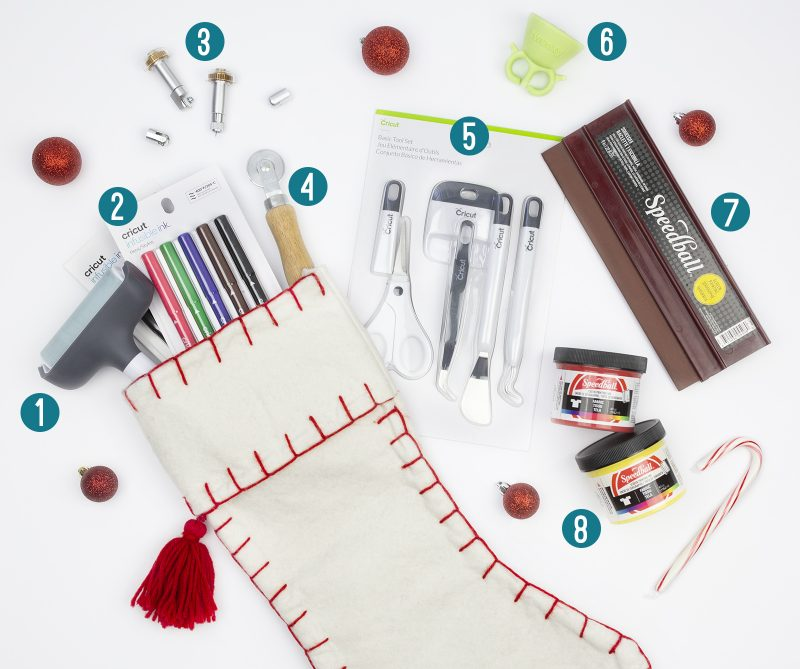 stocking stuffer ideas for creative crafters makers cricut