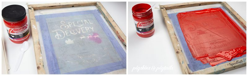 screen printing with vinyl cricut silhouette speedball