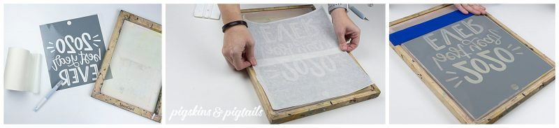 screen printing with vinyl how to