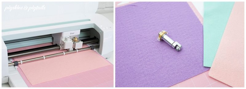 cutting felt cricut maker blade how to