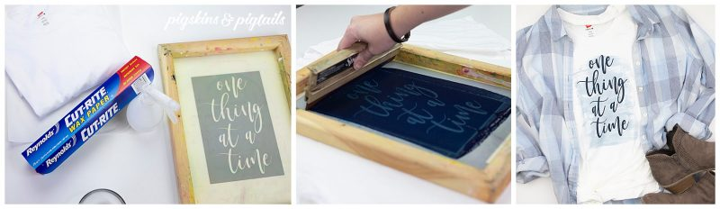 how to screen print at home cricut silhouette