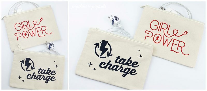 tutorial screen printing diy canvas zipper bags