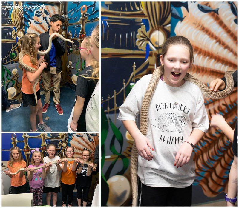 austin aquarium birthday party experience host