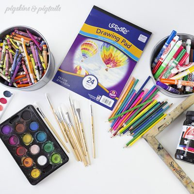 How to Screen Print Coloring Pages Using Supplies You Have at Home
