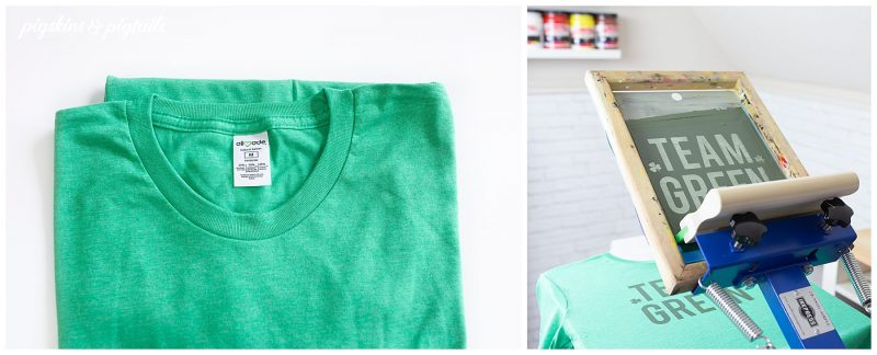 eco friendly blank tshirt screen printing allmade