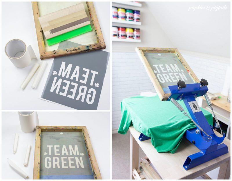 screen printing with vinyl tutorial reuse