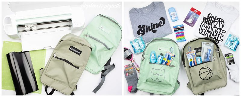 personalized backpacks with cricut maker