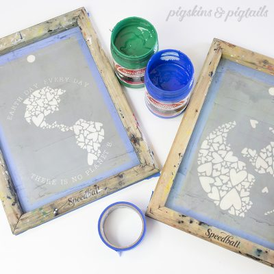 screen printing 2 color designs with cricut design space