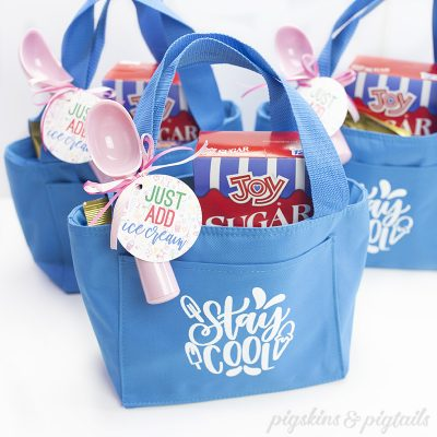 screen printing vinyl cricut cooler lunch tote bag