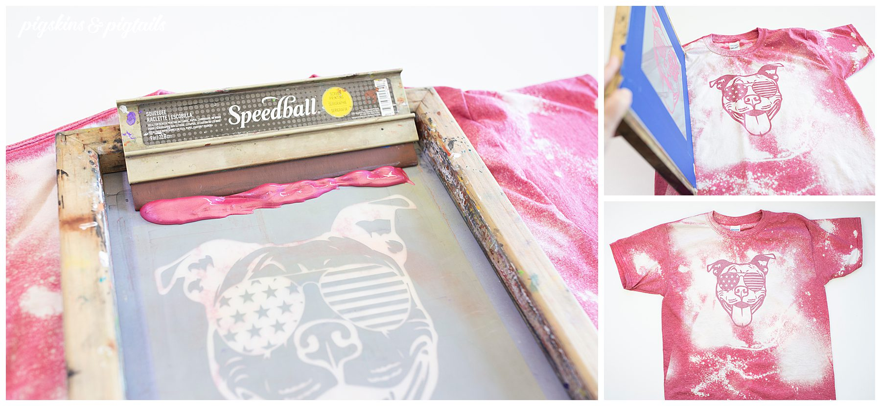 screen printing vinyl tutorial craft kids