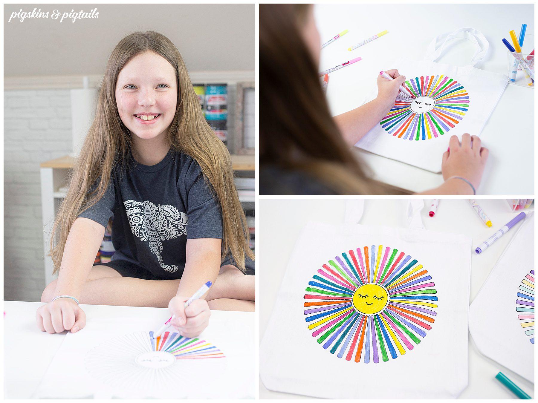 coloring bag activity make in bulk camp vbs ideas