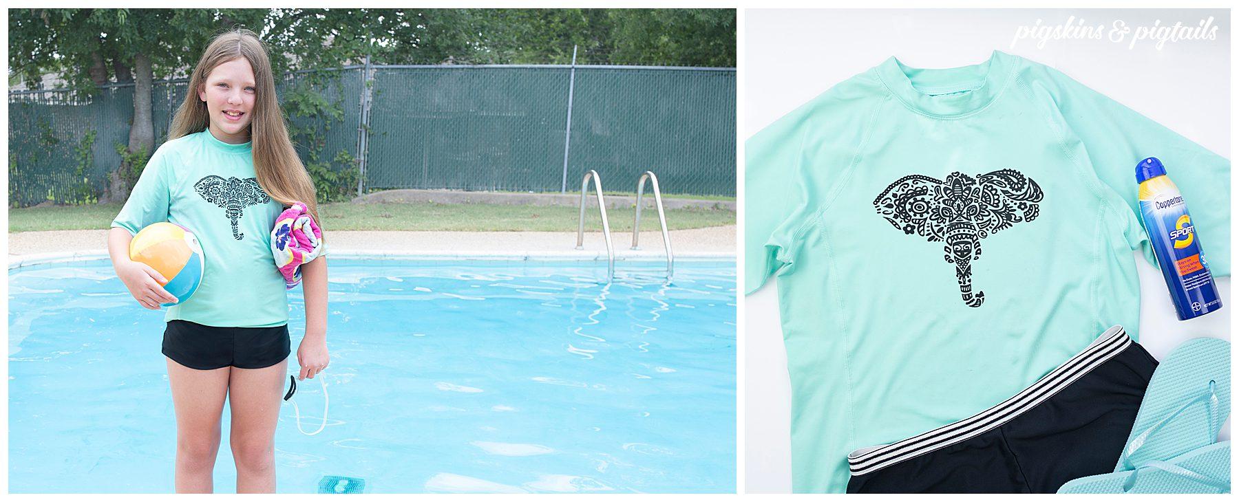 how to screen print speedball cricut vinyl swim