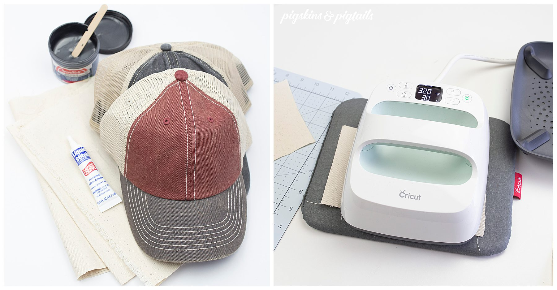 screen printing hat cricut vinyl