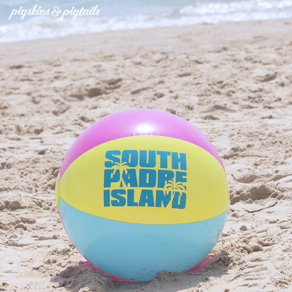 beach ball screen printing vinyl personalized