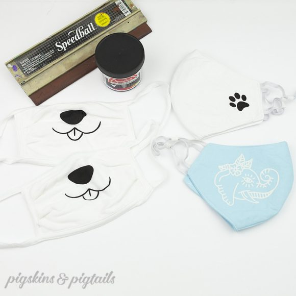 face mask personalized tutorial screen printing