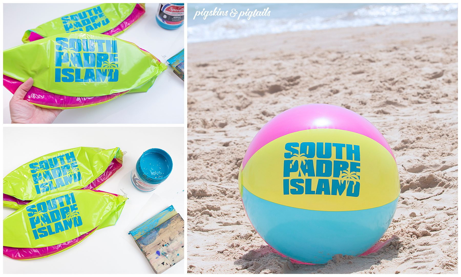 personalized beach ball how to make summer pool party favor