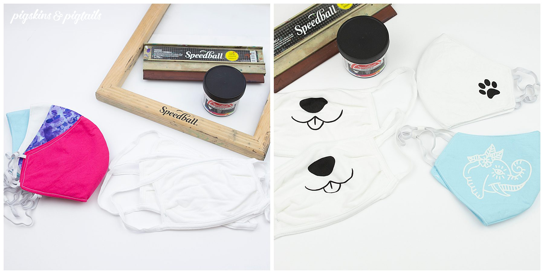 screen printing vinyl face mask tutorial