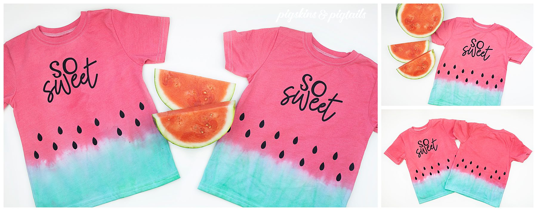 watermelon tie dye shirts screen printing vinyl speedball