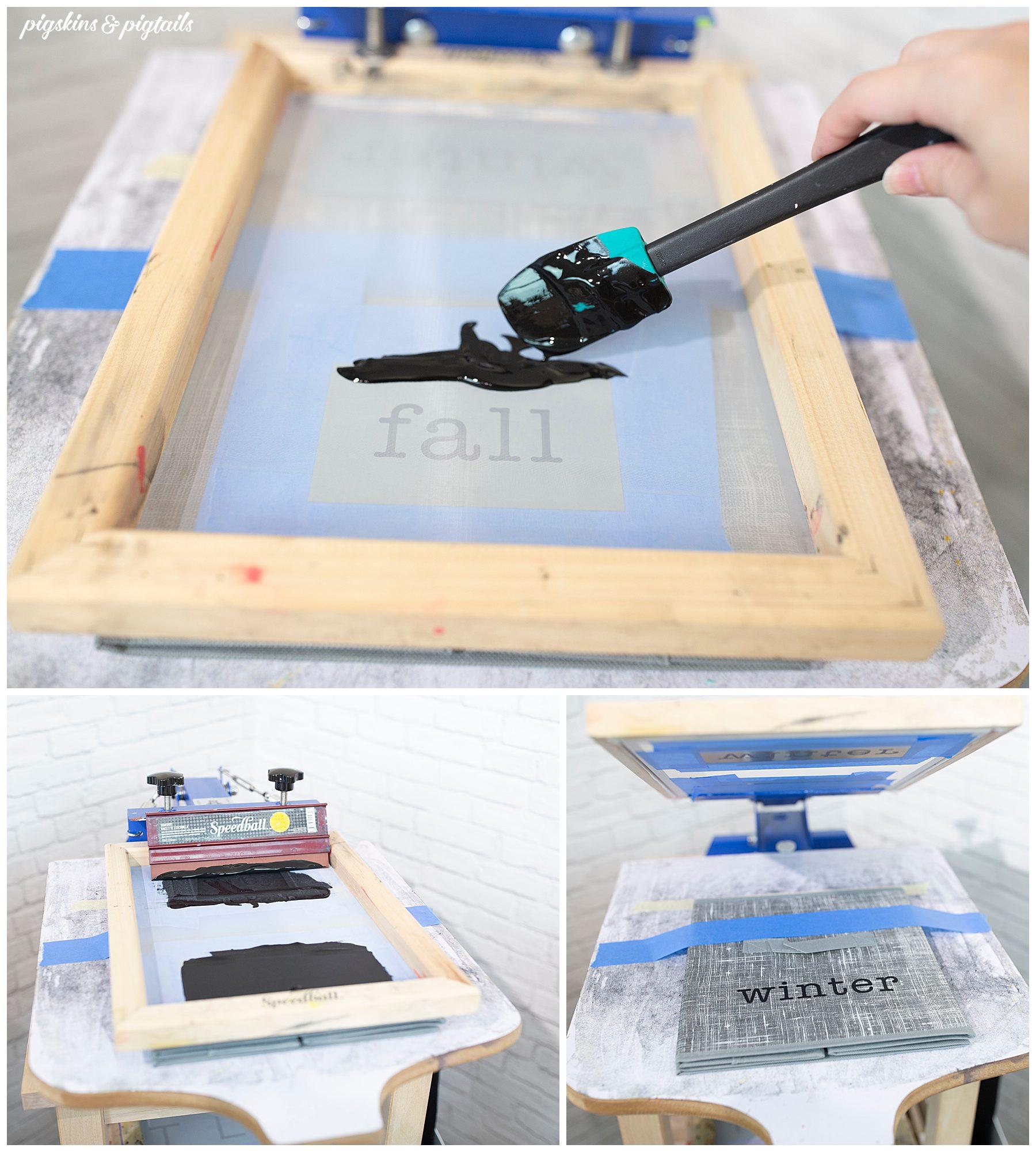 how to screen print vinyl cutter tutorial