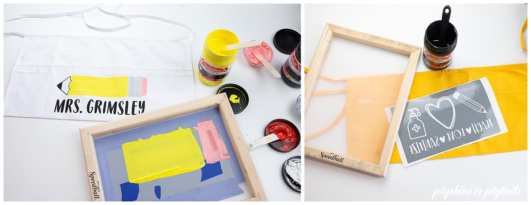 screen printing project idea for teachers