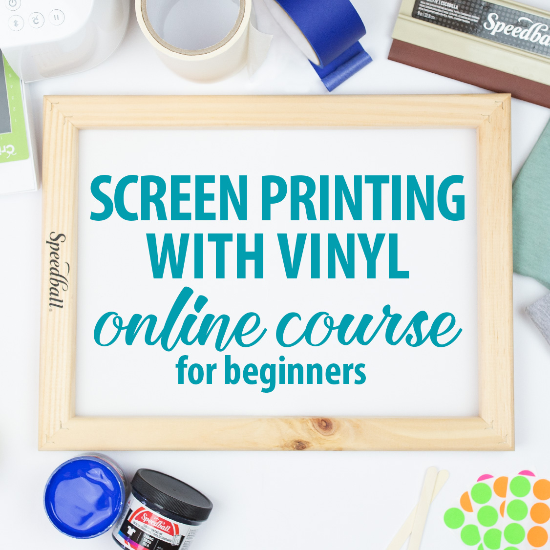 screen printing with vinyl course affiliate program