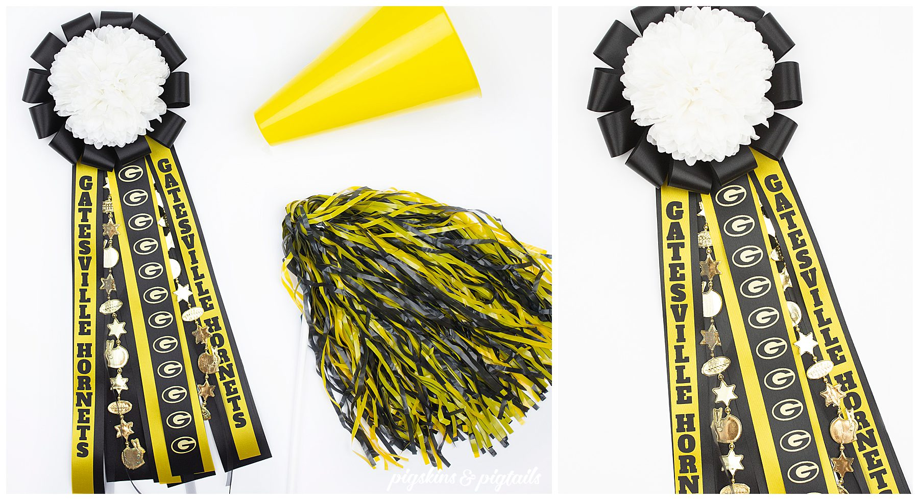 mum garter homecoming diy how to ribbon