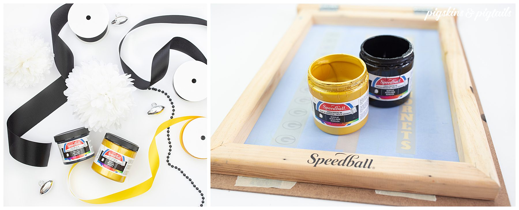 screen printing ribbon tutorial how to
