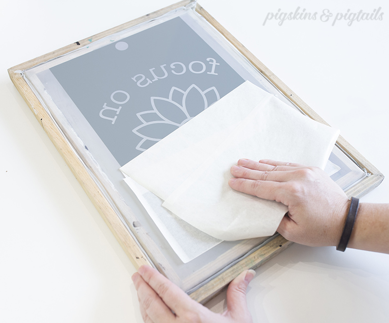 screen printing tutorial cricut silhouette how to