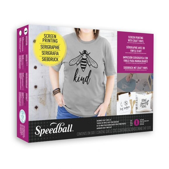 speedball screen printing vinyl kit box