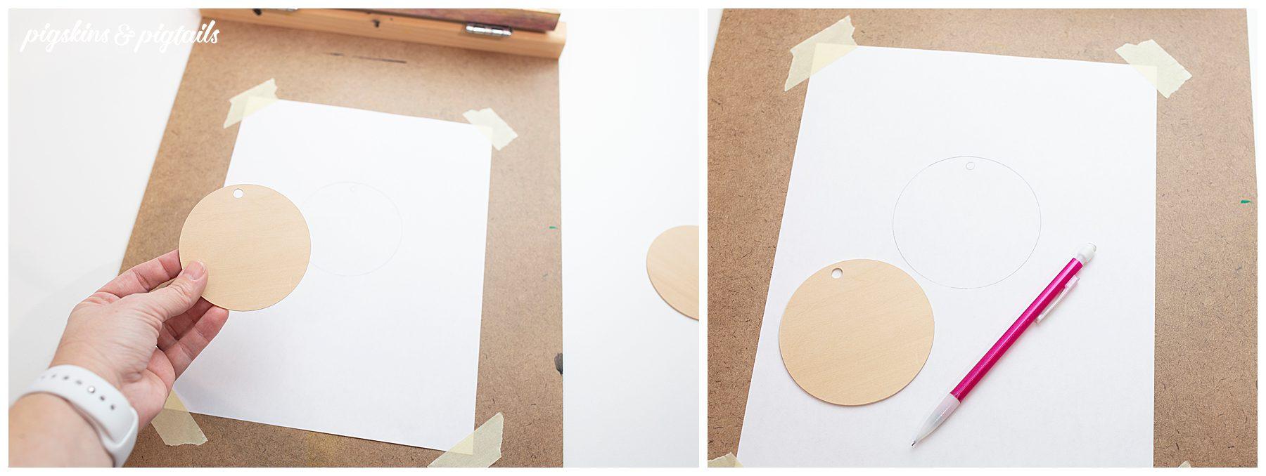 screen printing ornaments tutorial