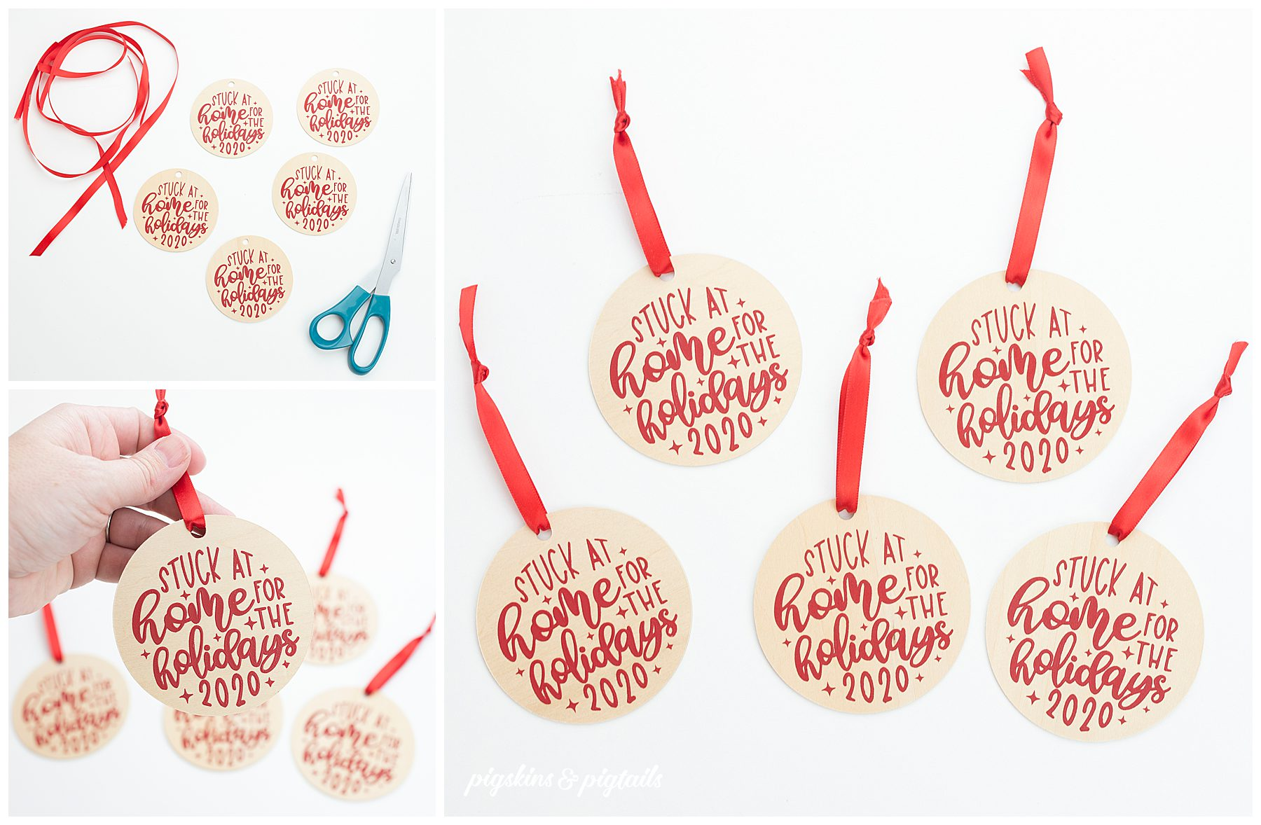screen printing wood ornaments bulk idea