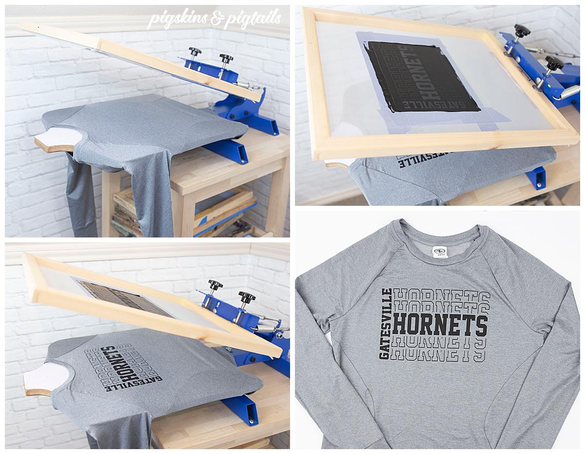 screen printing polyester cricut vinyl diy home