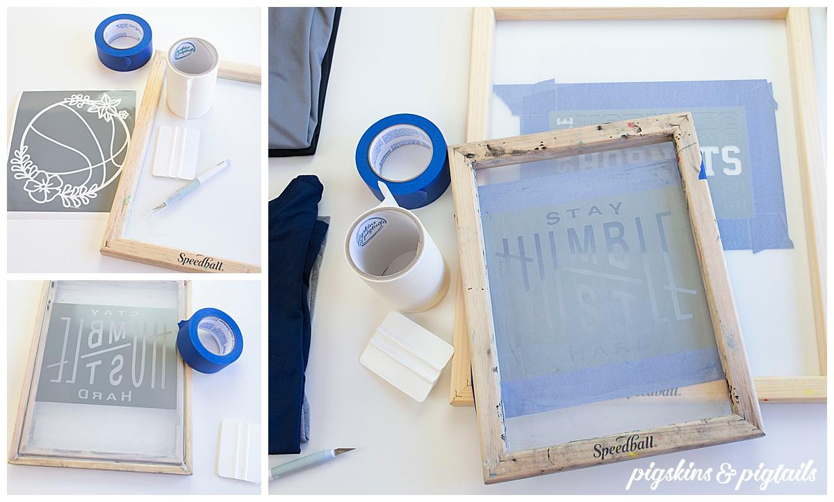 screen printing vinyl cricut how to dri fit