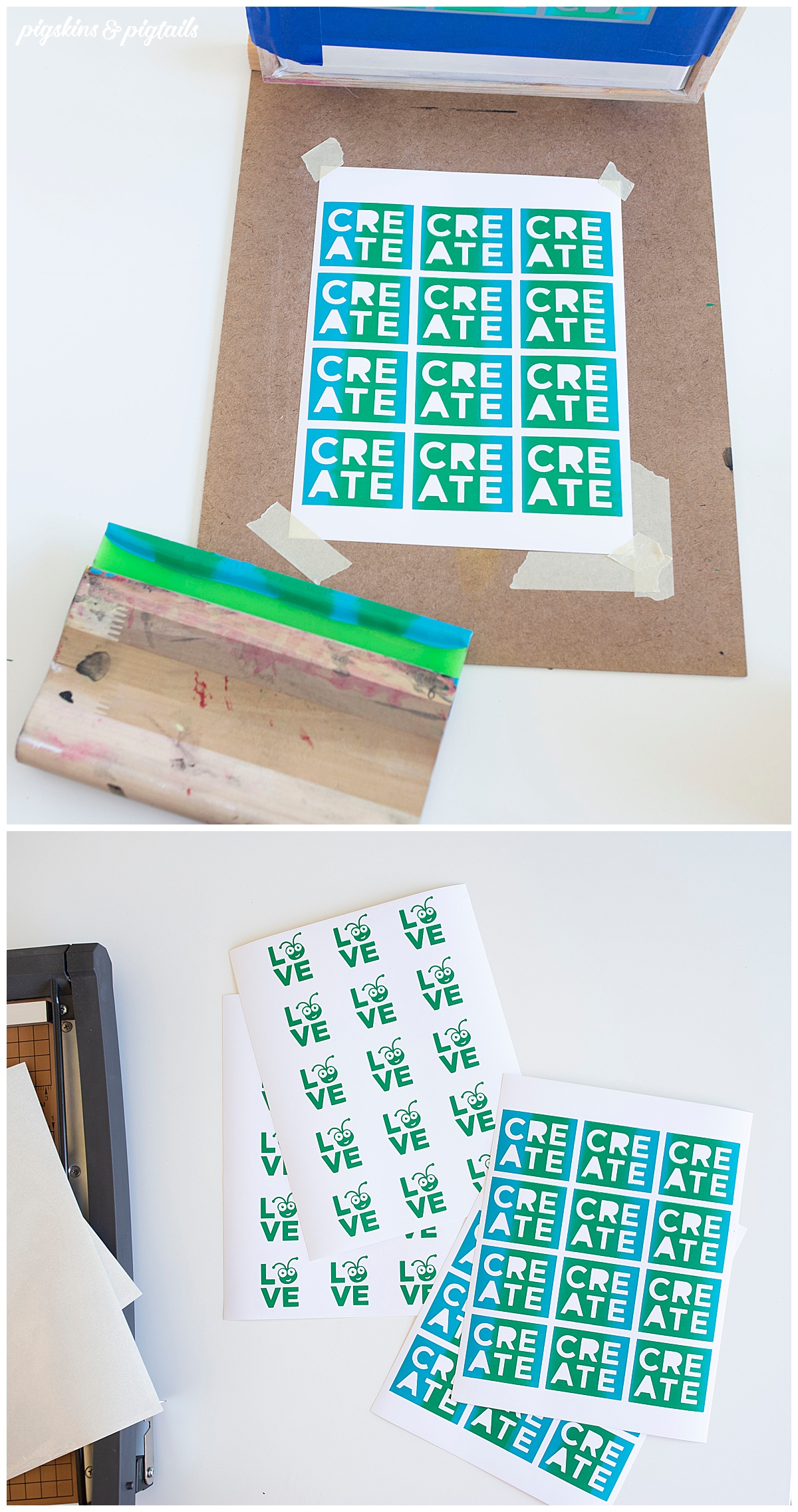 sticker making cricut silhouette how to
