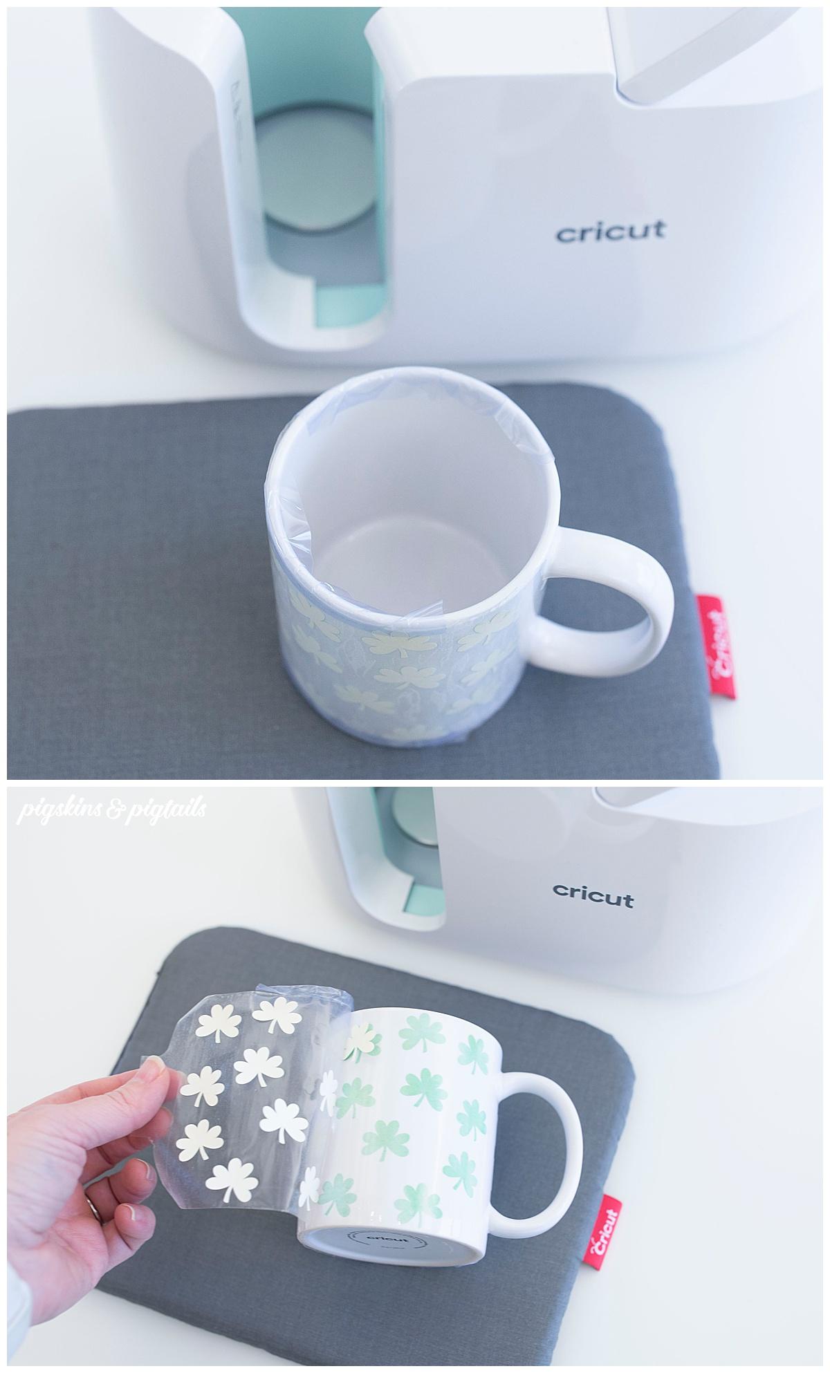 cricut diy mug personalized