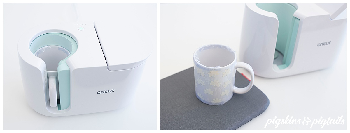 cricut mug press how to instructions