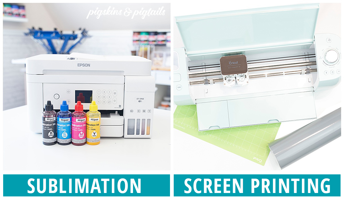 cricut or sublimation printer which is best