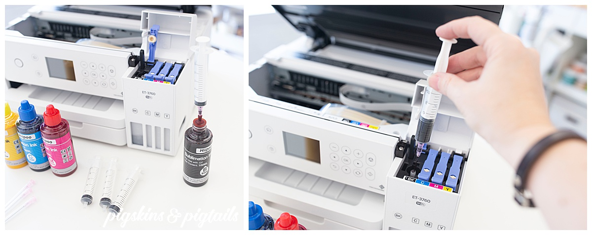 epson ET3760 sublimation printer