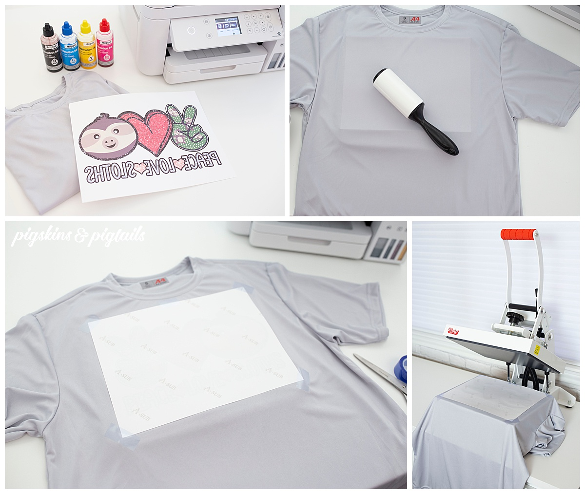 how to sublimation printing shirts