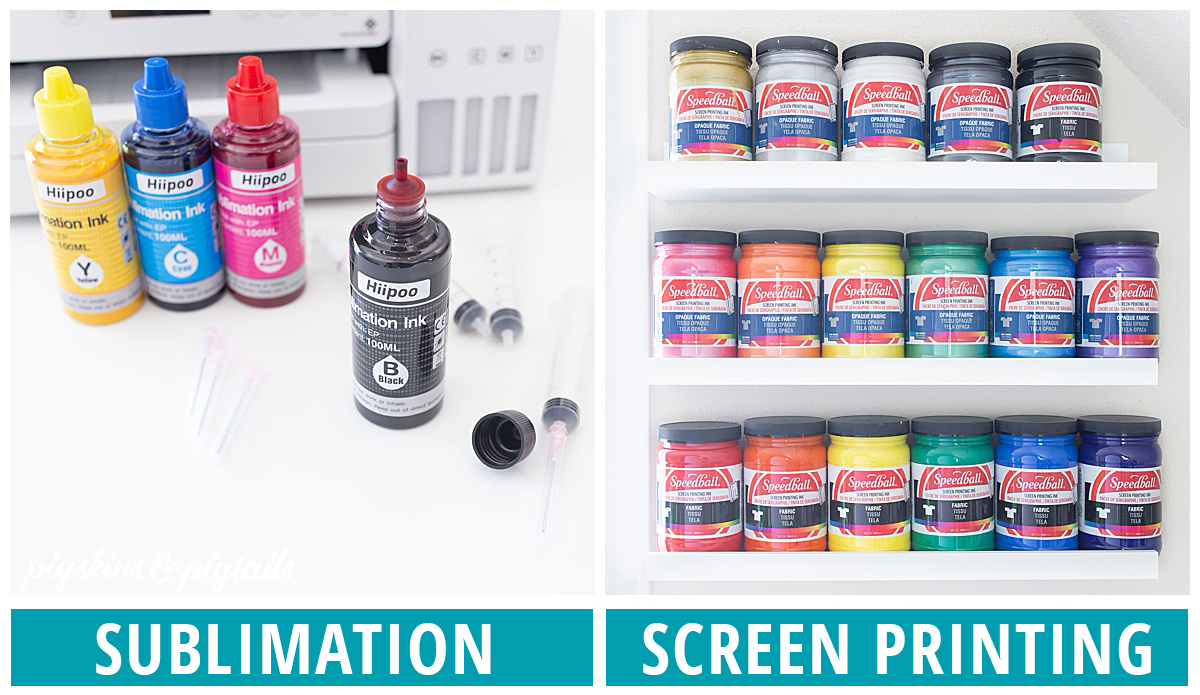 screen printing ink sublimation ink
