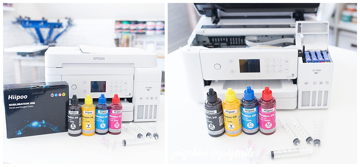 sublimation printer epson how to