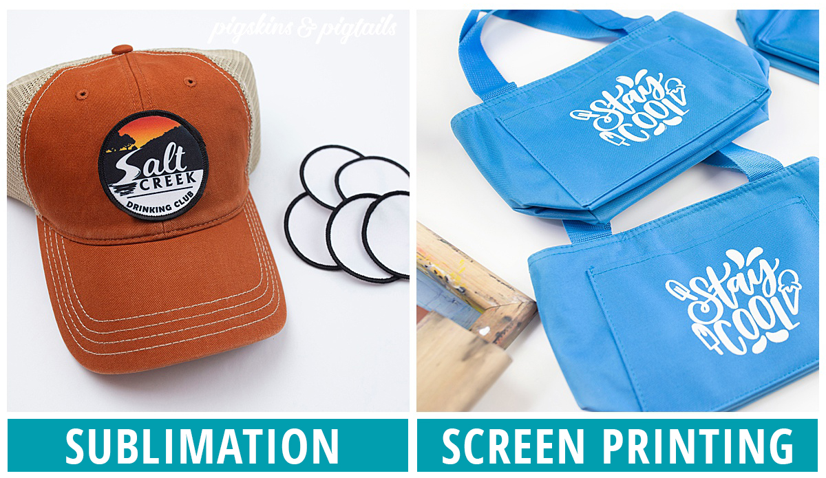 what blanks sublimation screen printing